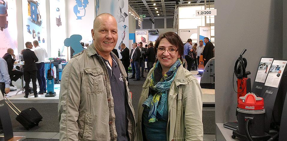 Hago Hannover: Michael Otto und Anita Erazo auf der CWS Berlin