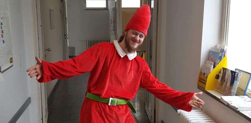 Eccos Weihnachtswichtel im Kaufhof Worms