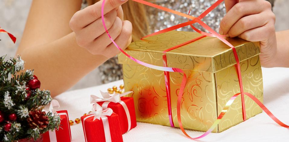 Eccos Geschenkverpackung Weihnachten