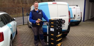 Frank Quaas von der Hago Dresden leitet die Haustechnik und die Hausmeisterdienste
