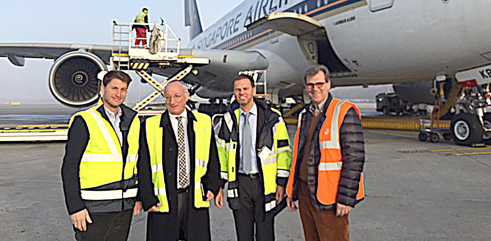 Servico AG zu Gast bei der Vebego Airport AG in Zürich