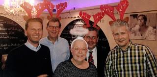 Weihnachtsfeier der Servico Unternehmensgruppe in Dinslaken