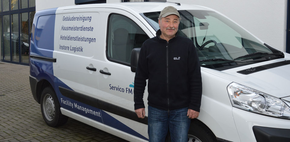 Neuer Transporter der Servico Unternehmensgruppe in Dinslaken: Citroen Jumpy