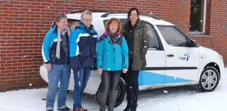Das Team der Hago Niederlassung Barth (v.l.): Jutta Wachholz, Angelika Sund, Gudrun Werner und Niederlassungsleiterin Ines Wollbrecht