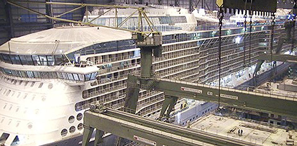 Ovation of the Seas, Meyer Werft Papenburg