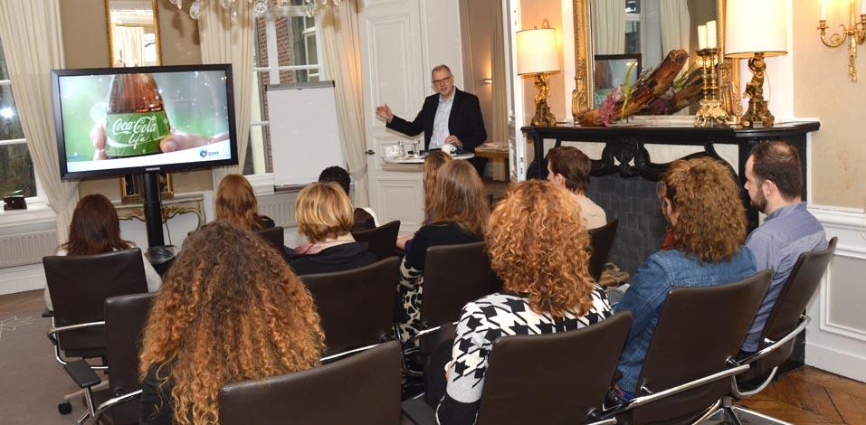 Jan Sijstermans demonstriert, was eine Marke ausmacht.