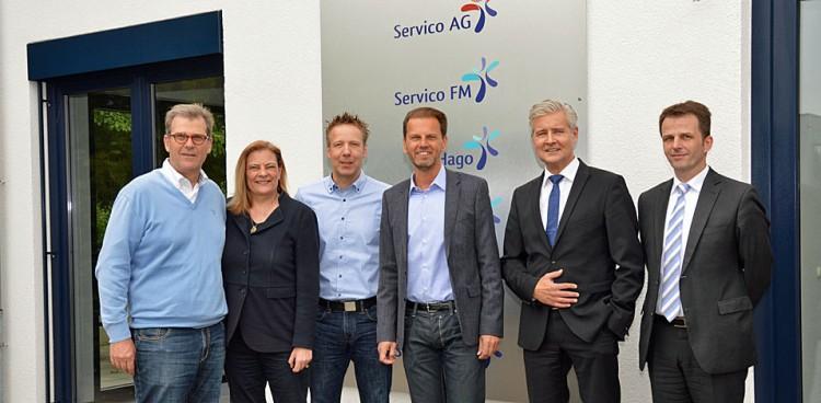 Sabine Weiss Mitglied des Bundestages besucht Servico AG Dinslaken