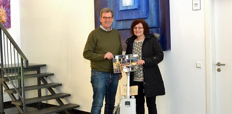 Servico Gewinnerin des Lions-Club Adventskalenders