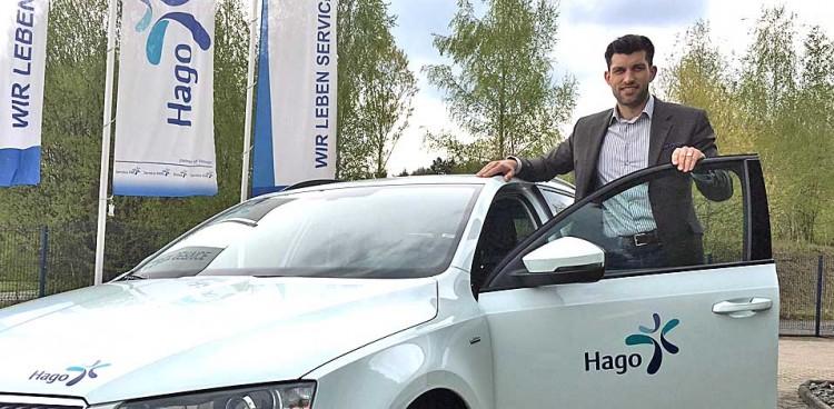 Service- und Vertriebsleiter der Hago Sachsen