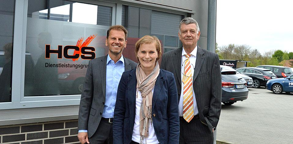 Tanje te Gempt ist technische Leiterin der HCS Dienstleistungsgruppe und wird diese Funktion auch weiterhin ausüben.