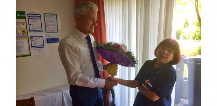 Servico HDG Hoteldienstleistung 15 Jahre Hanna Kuzniar