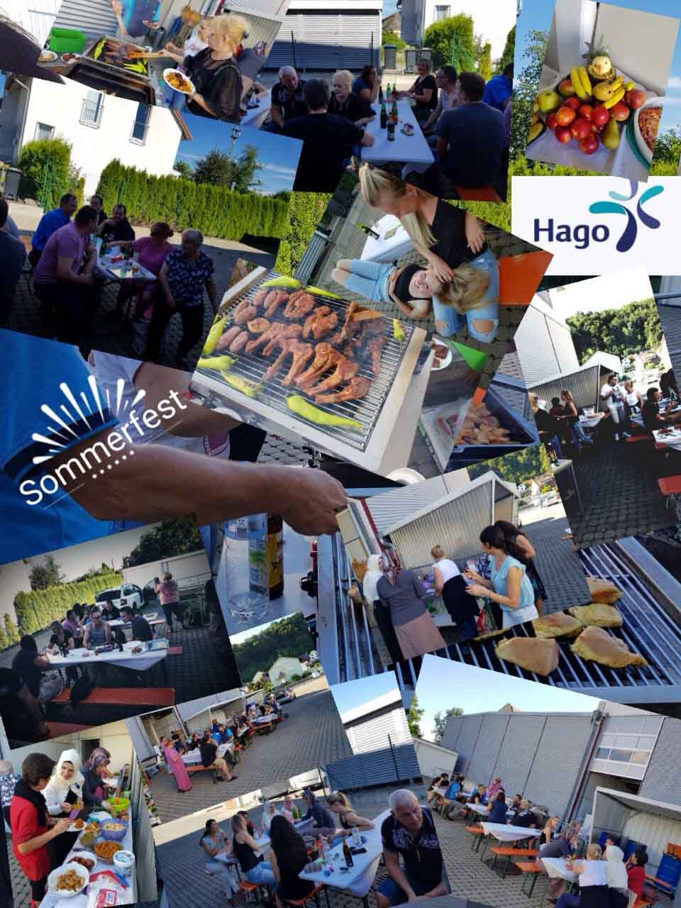 Impressionen vom Sommerfest der Hago Niederlassung Südbaden