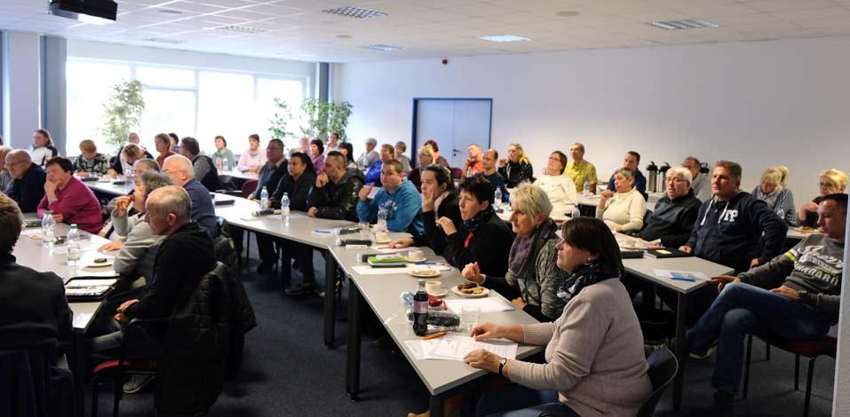 Gut besucht: Hago Betriebsversammlung in Dresden