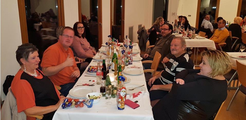Weihnachtsfeier der Hago FM Südbaden
