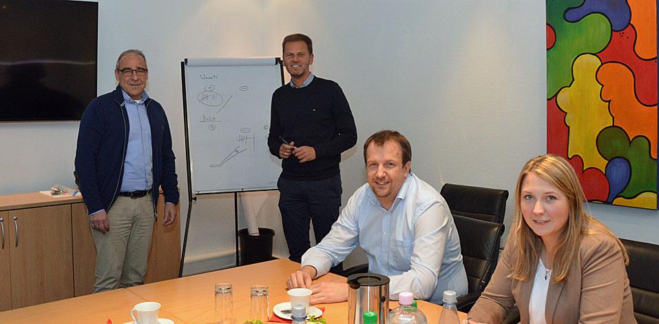 Jürgen Eichhorn betreut die die Zertifizierung der Hago-Niederlassungen seit Jahren.
