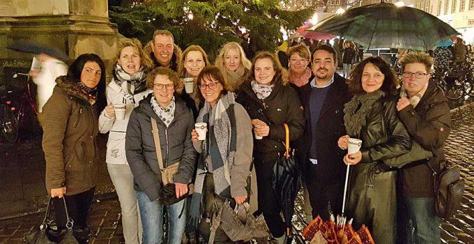 Weihnachtsfeier der HCS Facility Management in Münster