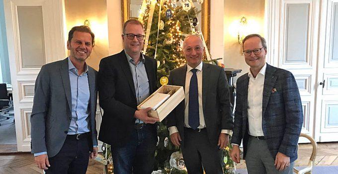 Rob Westerlaken als Aufsichtsratsvorsitzender der Servico AG verabschiedet