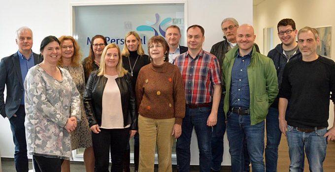 Zu Besuch bei der Schwesterfirma M2 Personal in Köln