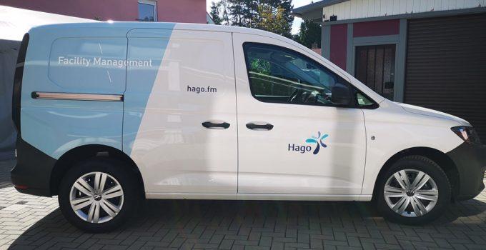 Hago FM – Neues Design bei Autobeschriftungen