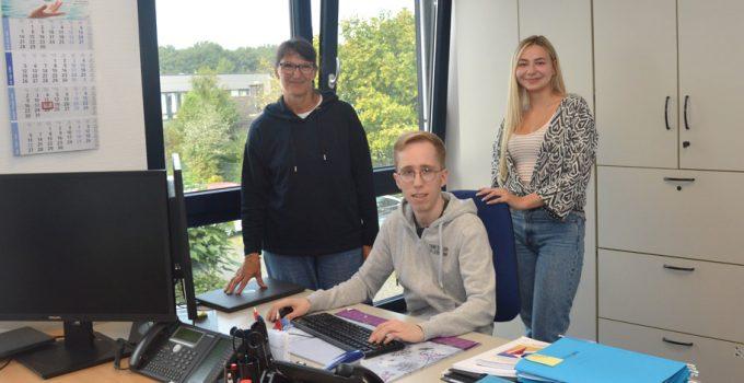 Timo Reichert ist neuer Auszubildender der Servico FM